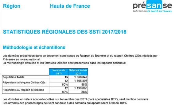 Chiffres clés Présanse 2017-2018